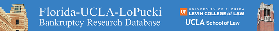 UCLA-LoPucki Bankruptcy Research Database